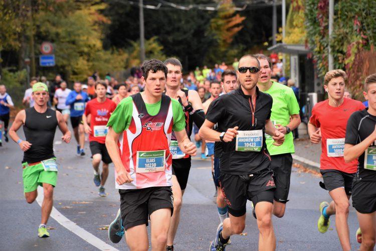 Marathon de Lausanne – arrivée droit devant !