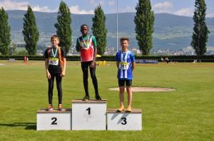 Belinga Steeve Ryan - U12 M 3 titres et une médaille d'argent