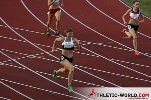 Charline Gonin - 400 m haies 42.17