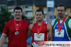 Nicolas Collin - Disque Médaille d'argent 2013