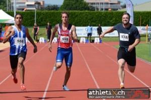 Sylvain Rayroud - 100 mètres 11'01 (PB)