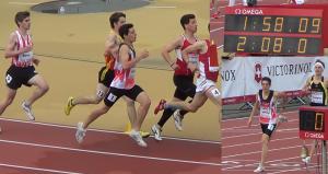 Nicolas Salvadé - 800 mètres 1:58.08 (PB)