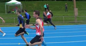 100m Homme - Cédric et Loïc S