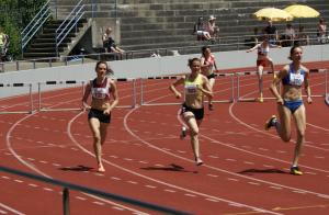 Charline Gonin - 400m haies 62'03 (SB)