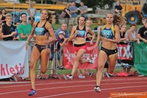 Elfie Méchaussie - 5ème 400m (57'57)