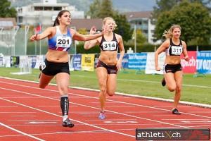 Debora Dell'Aquila - 100m Vice-championne suisse (12'77)